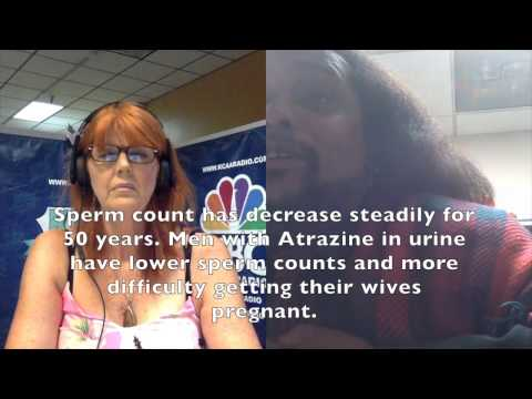 Dr  Tyrone Hayes: Atrazine Changes Sexual Development/Orientation In Womb With Estrogen
