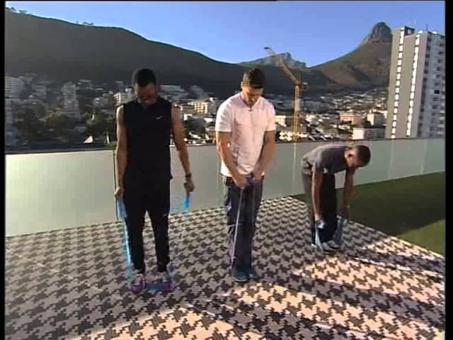 Ab & Core with Lee Thompson and Maps Maponyane - on Expresso