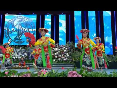 Tari Topeng Betawi of Jakarta - Gema Citra Nusantara @ Llangollen International Eisteddfod 2016