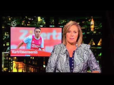 Ajax speler Nouri en hartritmestoornissen.