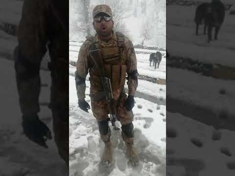 Pakistani army soldier