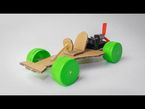 Wow! Powered F1 Car - Amazing Electric Car DIY - How to Make a Car