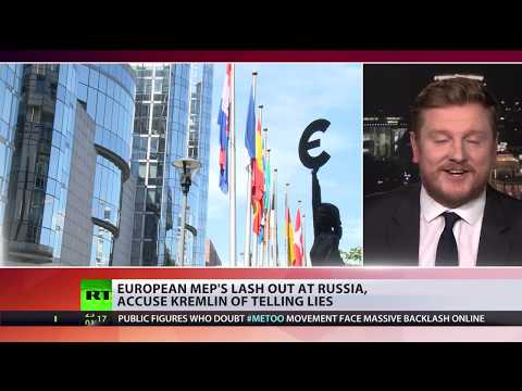 European MEP's lash out at Russia, accuse Kremlin of telling lies