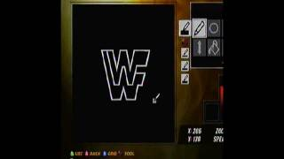 How To Make The WWF Logo In WWE 12