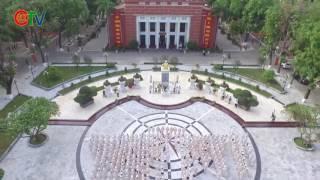 Ngắm vẻ đẹp rạng ngời Trường Học viện An ninh nhân dân qua Flycam