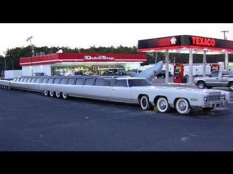 World S Longest Car The Limousine Youtube
