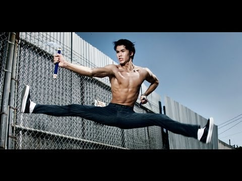"Booboo Stewart: Exclusive Footage of X-Men's ""Warpath"" at Black Belt Magazine Photo Shoot"