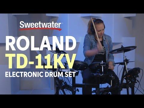 Roland TD-11KV Electronic Drum Set Demo