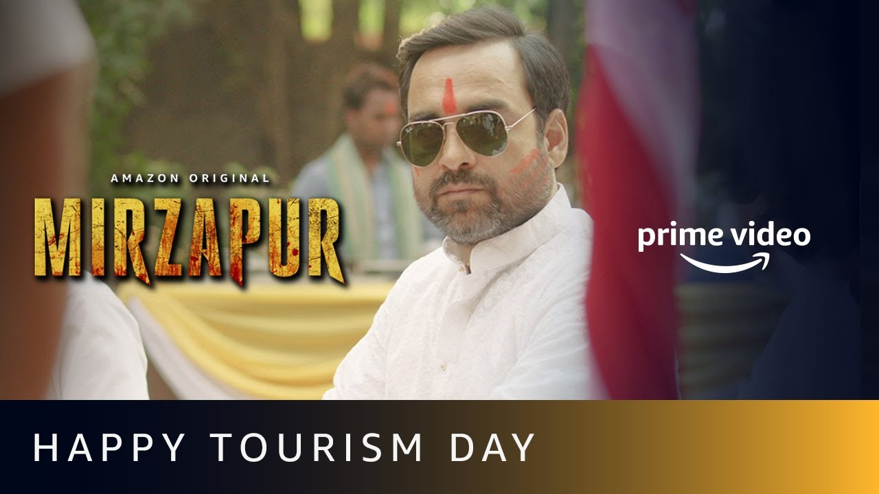 Mirzapur - Happy Tourism Day | Amazon Prime Video