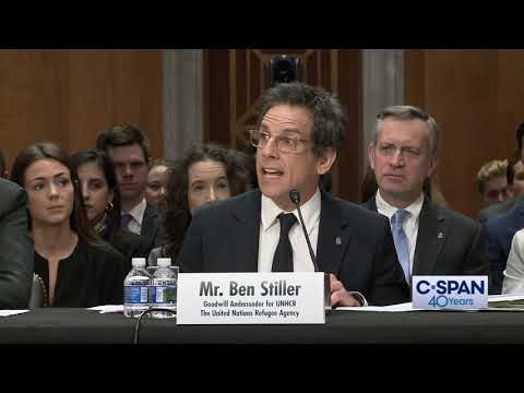 Ben Stiller Opening Statement (C-SPAN)