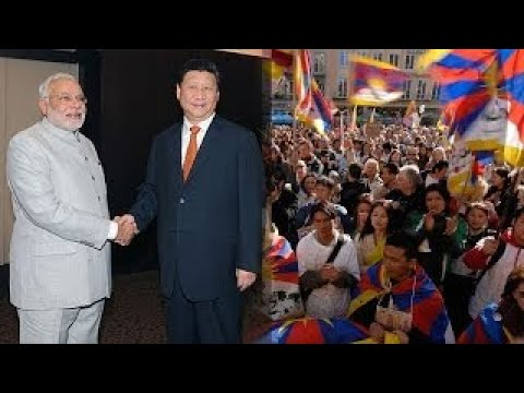 Is India letting Tibetians protest to make a point to China?