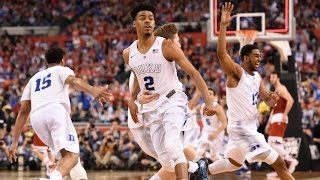 Duke vs. Wisconsin: Duke celebrates national title