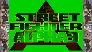 Street Fighter Alpha 3 MAX - First Fight