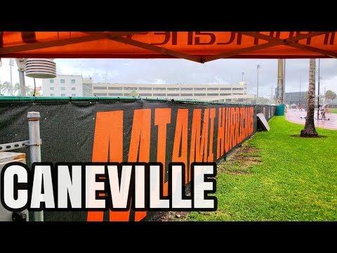 Miami Hurricanes Football practice| Media Day | Aug 12 Caneville