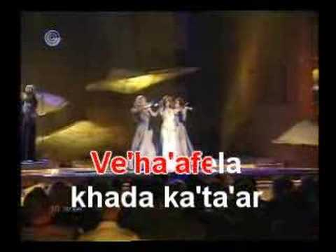 Karaoke- Light A Candle- Sarit Hadad (Eurovision 2002)