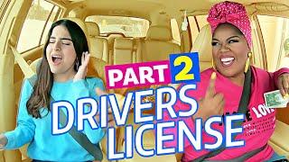 DRIVER'S LICENSE (Olivia Rodrigo) PART 2 - Carpool Coaching w/ Vocal Coach