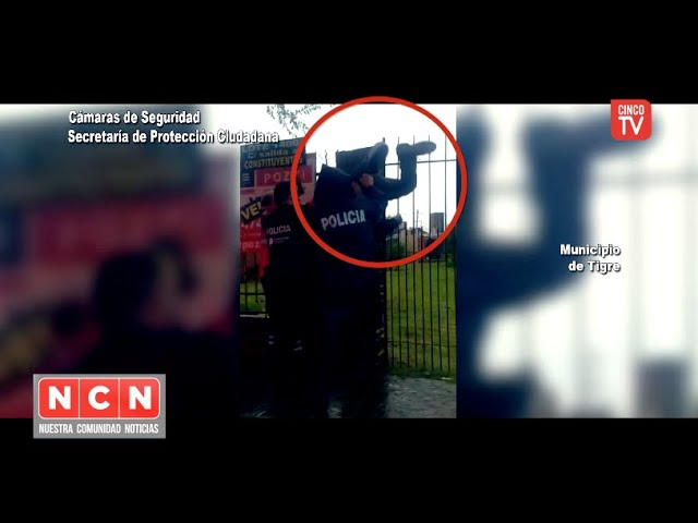 CINCO TV - Quiso robar en una propiedad y el COT lo atrapó antes que escapara