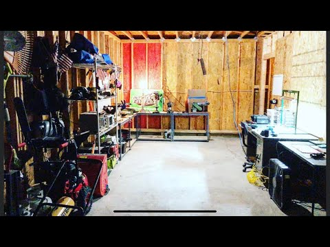 Turning My Garage Into A Workshop!!!