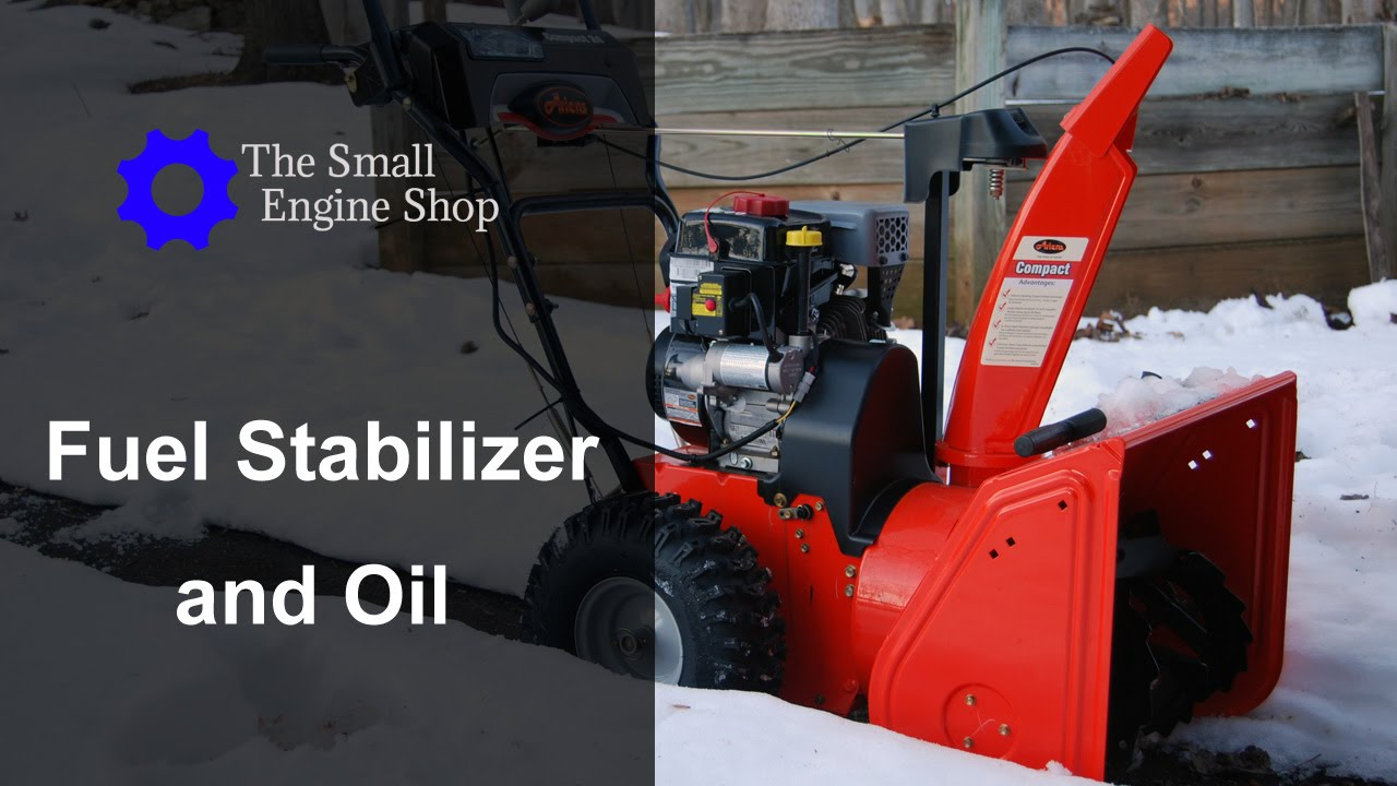 adding fuel stabilizer and changing oil on a ariens compact 24 snow blower 920021 youtube [ 1280 x 720 Pixel ]