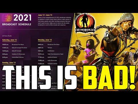 NetherRealm Studios CONFIRMED NOT AT E3 2021!? E3 Schedule Update! - Mortal Kombat 11  
