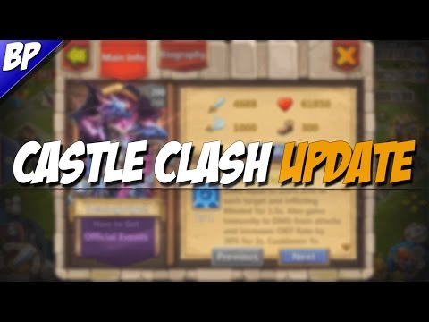 Castle Clash Update 1.2.97 (Demogorgon And Much More)