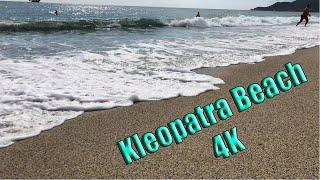 Kleopatra beach 4K   Alanya Turkey