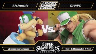 RSH Ultimate #49: Alchemic (Bowser Jr, Geninja) vs DAMN. (Terry) - Winners Semis