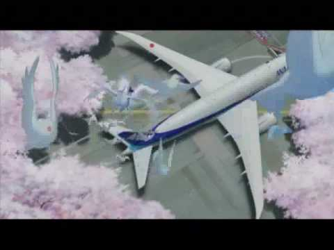 All Nippon Airways Anime Commercial (NYAF 2009)
