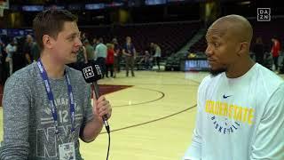 Interview mit David West, NBA Finals 2018 Game 3   DAZN - NBA
