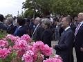 Raw: G7 Leaders View Jet Flyover Before Meetings