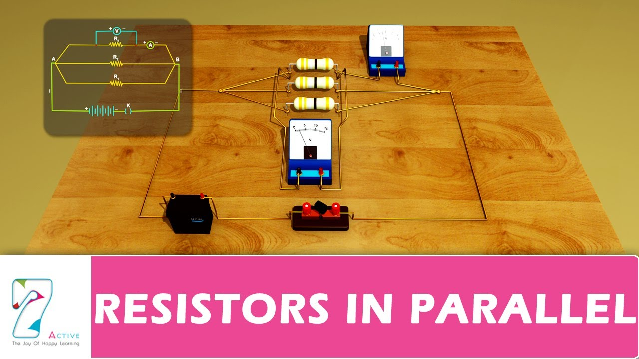Resistors In Parallel Youtube Switch Schematic Combo Wiring Diagram