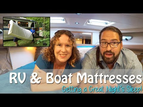 Crappy RV or Boat Mattress? Tips for a Great Night's Sleep | Presentation