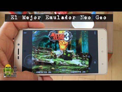 El Mejor Emulador Neo Geo Para Android + Pack de Juegos (Metal Slug y Kings Of Fighter)