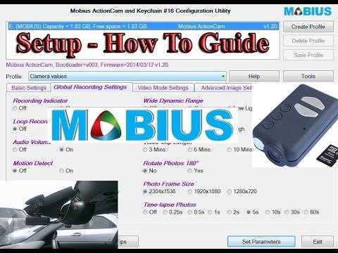 Mobius Guide for Dash Cam Setup with mSetup Program - How To - Explanation