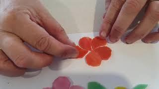 Frangipani making for mosaic work