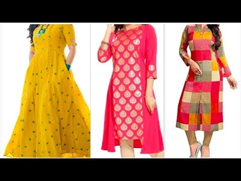Latest Designer Kurti 2019 With Purchase Links.Kurti Designs For Girls.Latest Kurti Designs For Girl