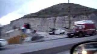 Accidente En Tijuana ( Calafiazo ) Blvd Insurgentes