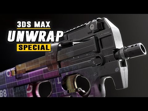 Unwrap Special - Full guide to efficient and fast UV Mapping - 3Ds Max 2017
