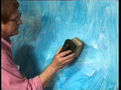 How To bagging with acrylic scumble glaze by Polyvine ...