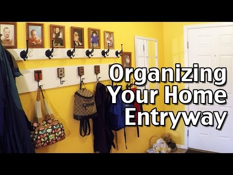 How To Organize Your Home Part 1: Organizing The Entryway