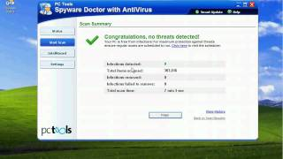Part Two PC Tools Spyware Doctor with Antivirus 2010 7.0 vs Zero Day Malware