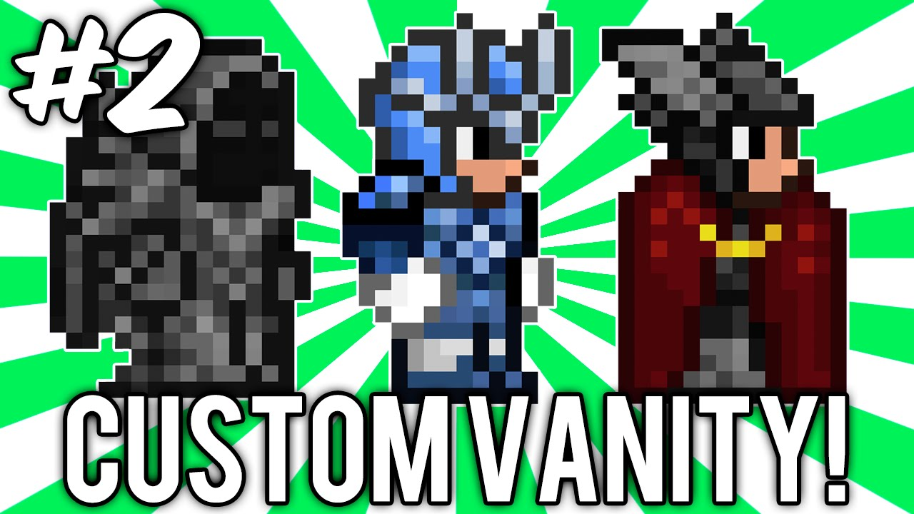 Terraria Custom Vanity Sets 2 Megaman X Thor Necromancer Sets