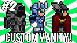 Terraria Custom Vanity Outfits #2 (megaman X, Thor, & Necromancer Sets!) // Demize