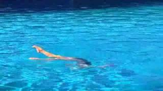 синхронное плавание фигуры видео