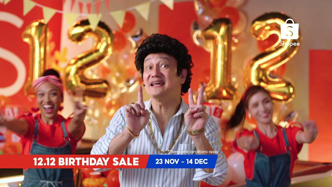 Shopee 12.12 Birthday Sale! 🥳