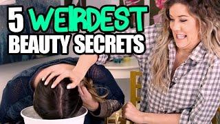 5 Weird Celeb Red Carpet Beauty Secrets