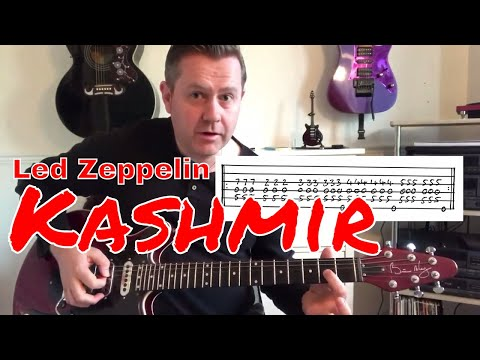 Led Zeppelin - Kashmir - Guitar Lesson (Guitar Tab)