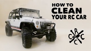 How I Clean My RC Cars