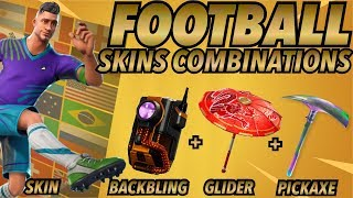 MIDFIELD MAESTRO SKIN BEST BACKBLING + SKIN COMBOS! (Fortnite skin) (Fortnite Battle Royale) (2018)