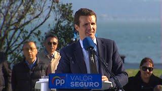 """Casado pide """"unir el voto"""" en torno a PP"""